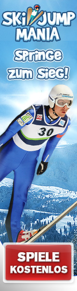 Ski Jump Mania - Kostenloses Online-Skispringspiel