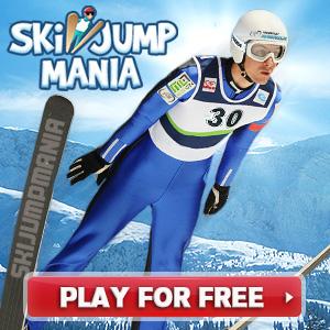 Ski Jump Mania - Ingyenes online síugró játék