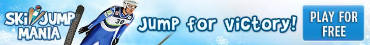 Ski Jump Mania 2 - Free online ski jumping game